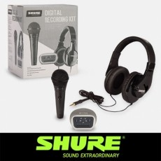 [SHURE] 슈어 디지털 레코딩 키트 DIGITAL RECORDING KIT P58-240-MVI
